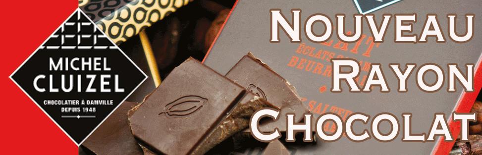 Nouvelle espace pour le chocolat Cluizel