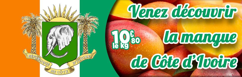 Mangues Kent de Côte d'Ivoire