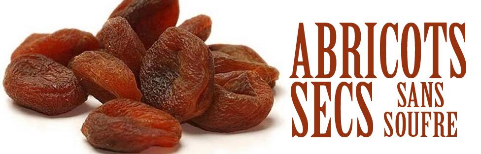 Abricots secs… sans soufre pour plus de goût