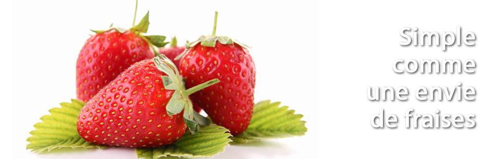 Des fraises !!