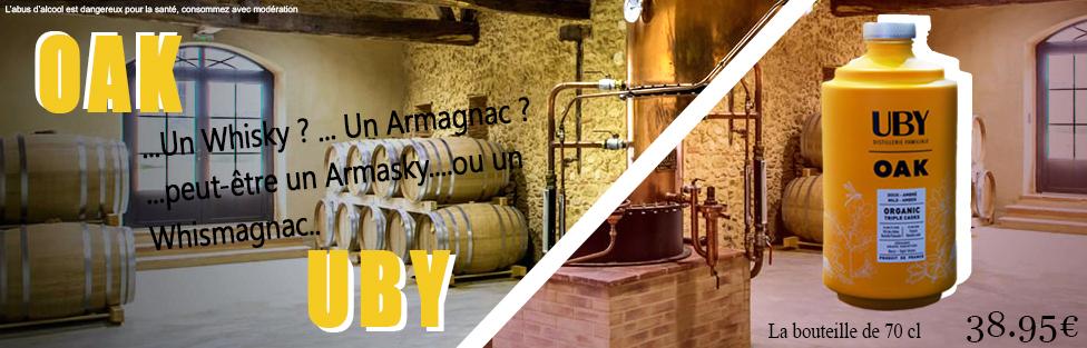 Un Armagnac du Domaine UBY élevé comme un Whisky?