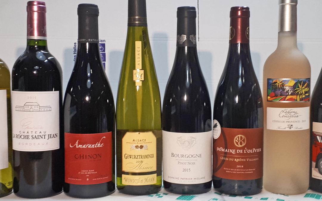 Un coffret dégustation de 8 vins de nos belles régions