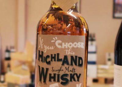 Whisky Highland Single Malt GHSV