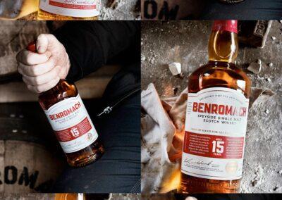 Whiskies Benromach